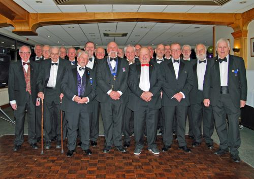 Club members at Charter Night 2019